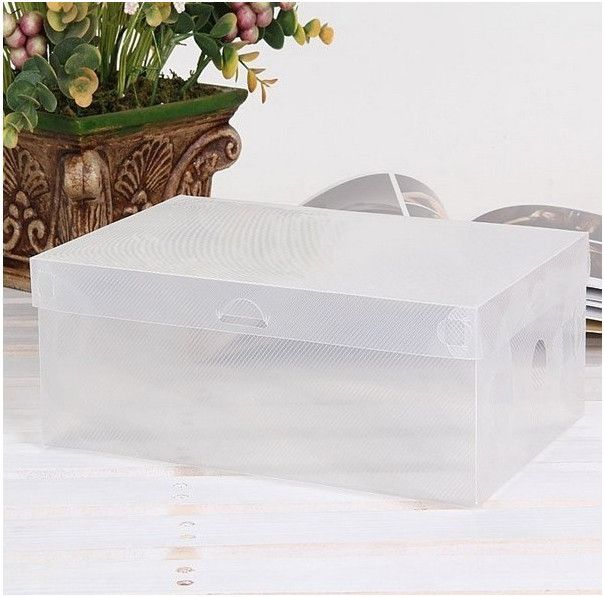 Пластиковая коробка для хранения обуви PP Shoes Box