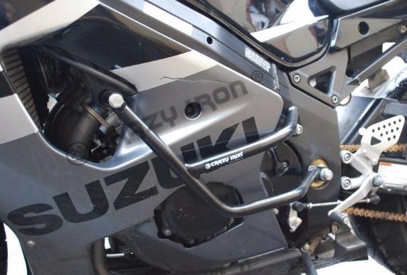 [CRAZY IRON] Дуги для Suzuki GSX-R1000 2003-2004 + слайдеры на дуги