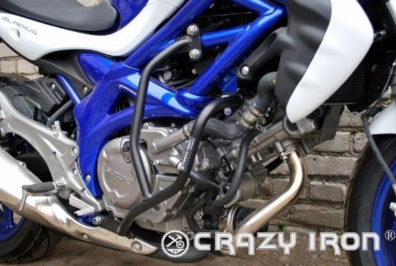 [CRAZY IRON] Дуги для Suzuki SFV650 Gladius 2009-2014