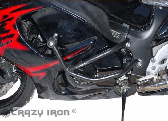 [CRAZY IRON] Дуги для Suzuki GSX-R1300 Hayabusa 1999-2016 + слайдеры на дуги