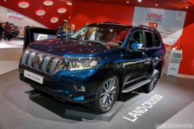 Решетка радиатора для Toyota Land Cruiser Prado 150 2017 -