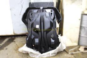Защита Картера, КПП, Раздатки (Композит 7 мм) для Toyota Land Cruiser Prado 150