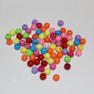 Бусины 10 мм, цвет МИКС (1уп = 100шт), Арт. БС1114
