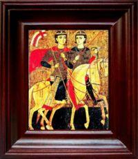Сергий и Вакх (21х24), простой киот