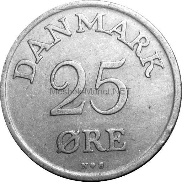 Дания 25 эре 1949 г.