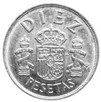 Испания 10 песет 1983 г.