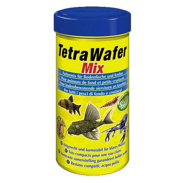 Корм Tetra WaferMix таблетки 100мл для донных рыб (раки, креветки, сомики)