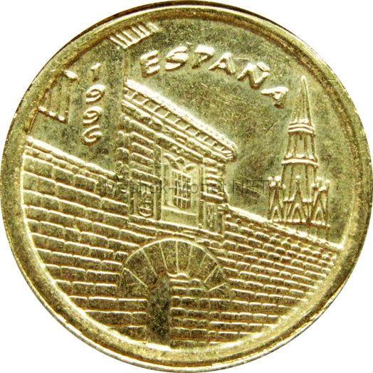 Испания 5 песет 1996 г.