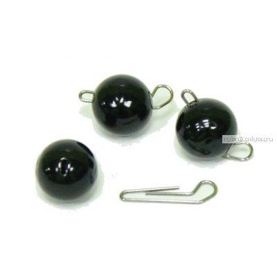 Купить Груз Тула чебурашка(спорт) разборная-черная ( Упаковано в блистер проволока диаметром 0,8мм) 44 гр / 5 шт