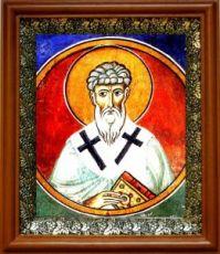 Трифиллий Левкусийский (19х22), светлый киот