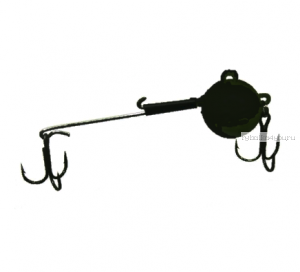 Снасточка зимняя,цвет-черный проволока толщиной 0,8мм (под берша и тп.)  25 гр / 1 шт
