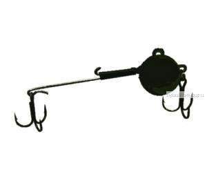 Снасточка зимняя,цвет-черный проволока толщиной 0,8мм (под берша и тп.)  15 гр / 1 шт