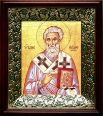 Фотий Константинопольский (21х24), киот со стразами
