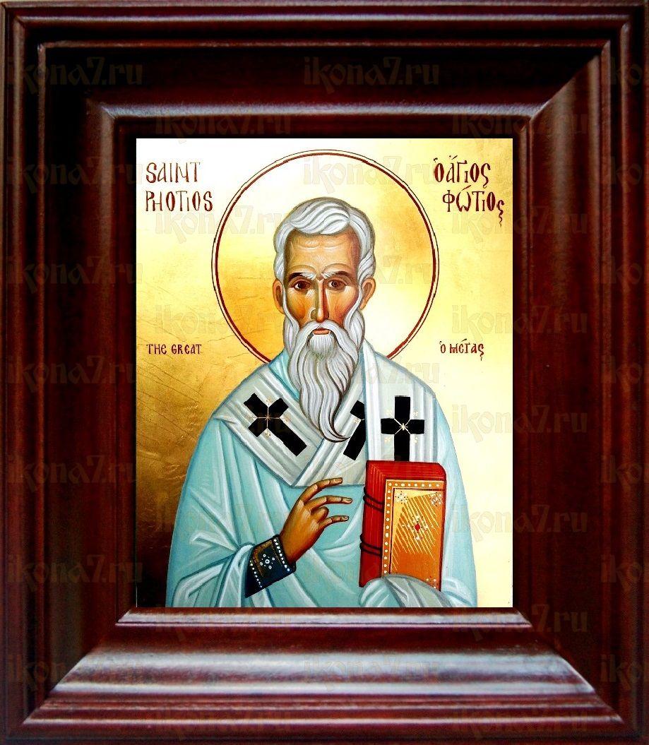 Фотий Константинопольский (21х24), простой киот