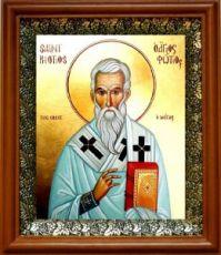 Фотий Константинопольский (19х22), светлый киот