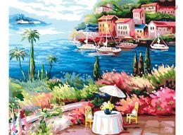 Картина по номерам Медовый месяц E007