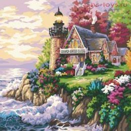 Картина по номерам Дом с маяком E020