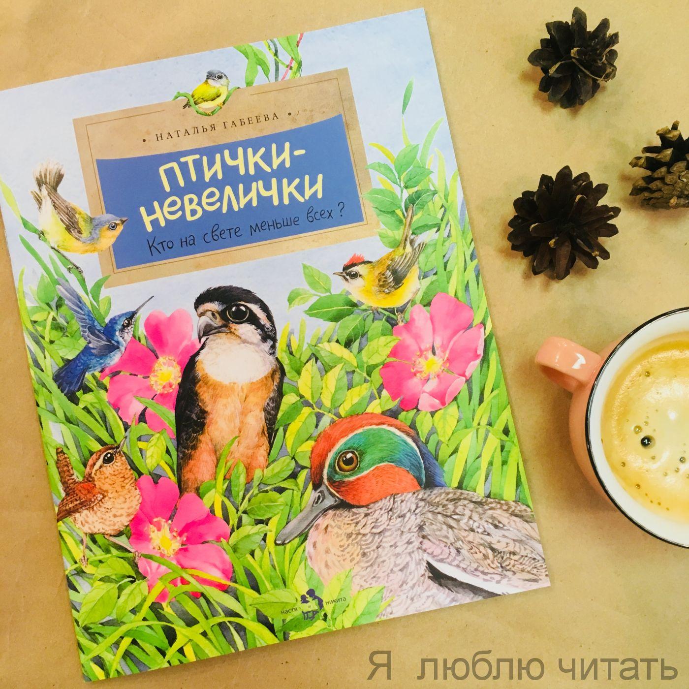 Книга «Птички-невелички»