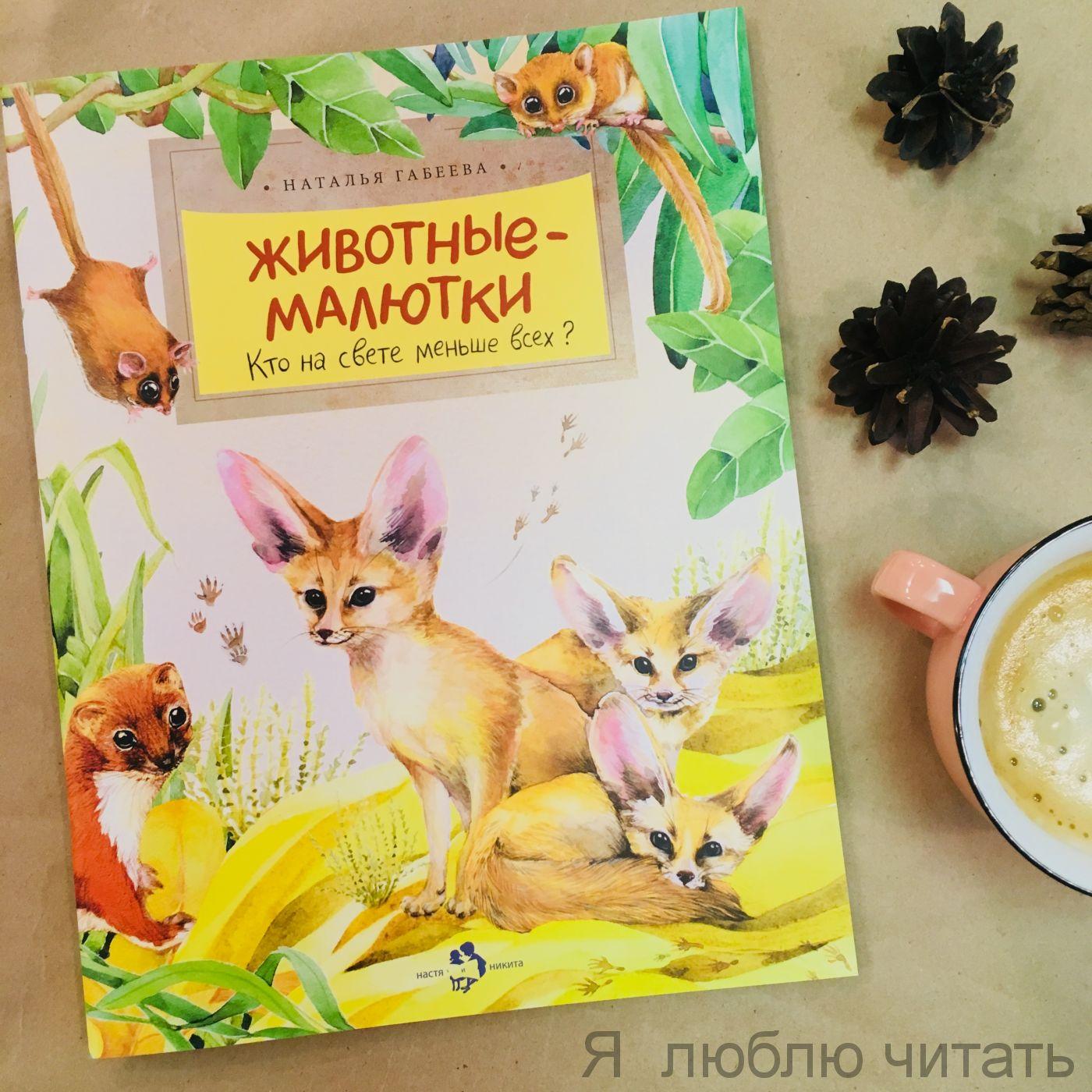 Книга «Животные-малютки»