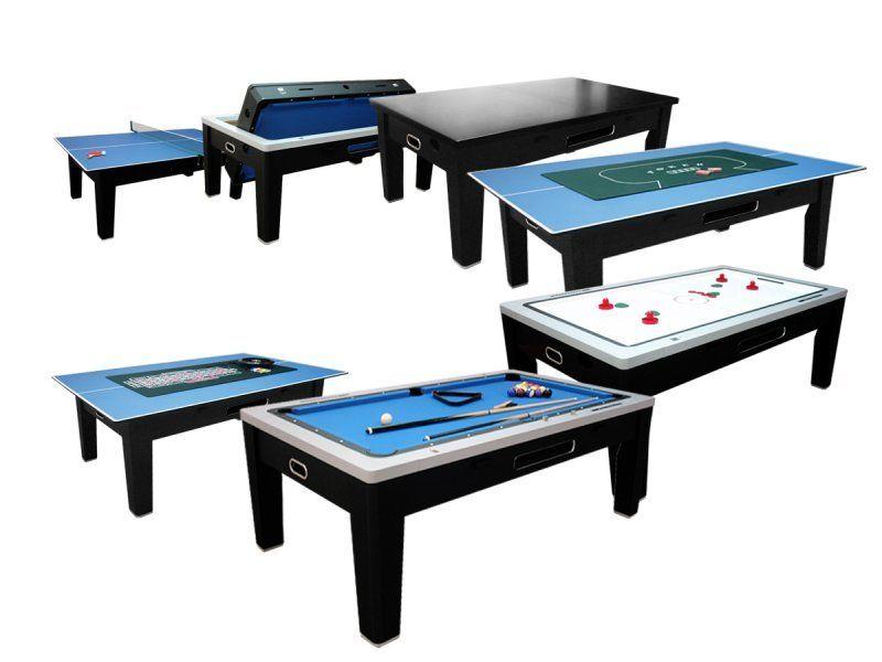 Игровой стол - многофункциональный «Dybior Mistral» (черный)