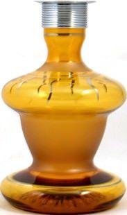 Колба для кальяна Ager желтая