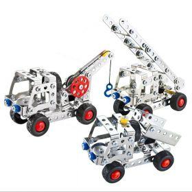 Металлический конструктор 3 в 1 Metal Models 137 деталей
