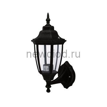 Садово-Парковый Светильник HL275 60Вт Черный E27 220-240V Накладной