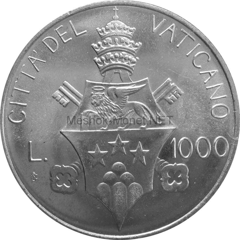 Ватикан 1000 лир 1978 г.