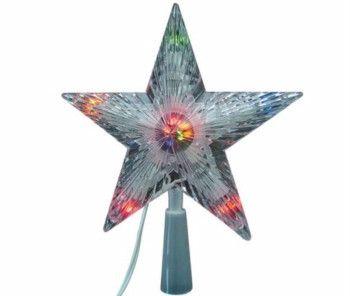 Электрическая гирлянда Звезда - Наконечник на елку