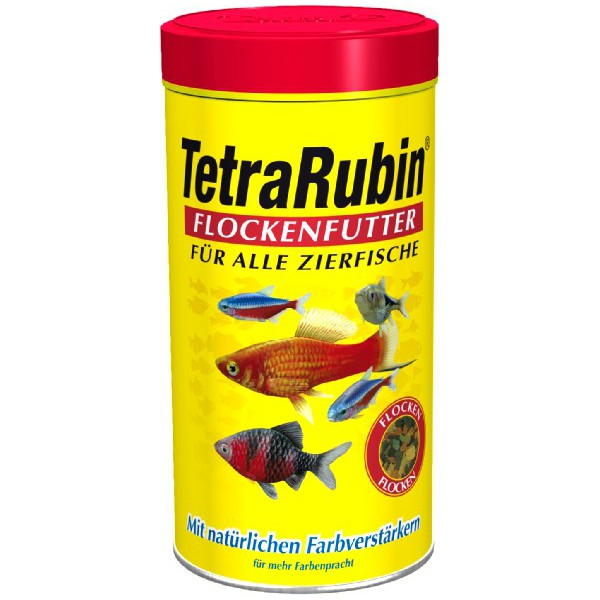 Корм Tetra Rubin Flocken хлопья 100мл для рыб для усиления насыщенности окраса