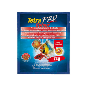 Корм Tetra Pro Color Crisps чипсы 12гр для рыб для усиления насыщенности окраса