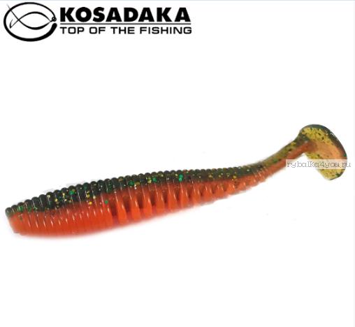 Купить Виброхвост Kosadaka Awaruna 100, 5шт., цвет DM AWA-100-DM