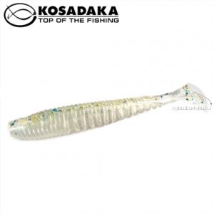 Виброхвост Kosadaka Awaruna 75, 10шт., цвет GTR AWA-075-GTR