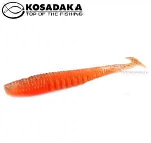 Виброхвост Kosadaka Awaruna 75, 10шт., цвет ORG AWA-075-ORG
