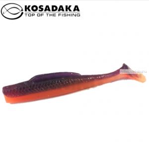 Виброхвост Kosadaka Weedless Minnow 88, 6шт., цвет VF WM-088-VF