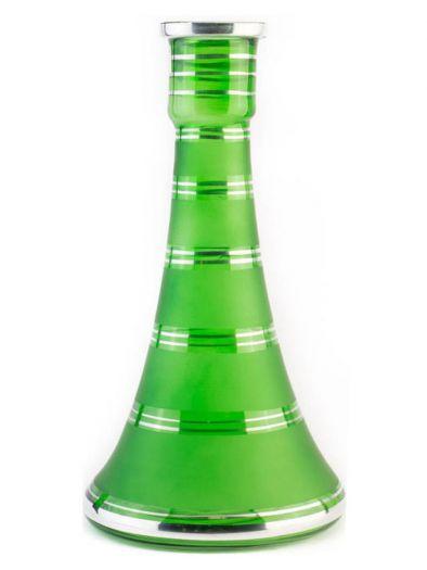 Колба для кальяна АртКальян башня зеленая высокая