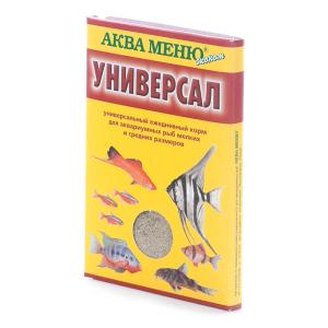 Корм Аква Меню Универсал 30гр для большинства видов аквариумных рыб