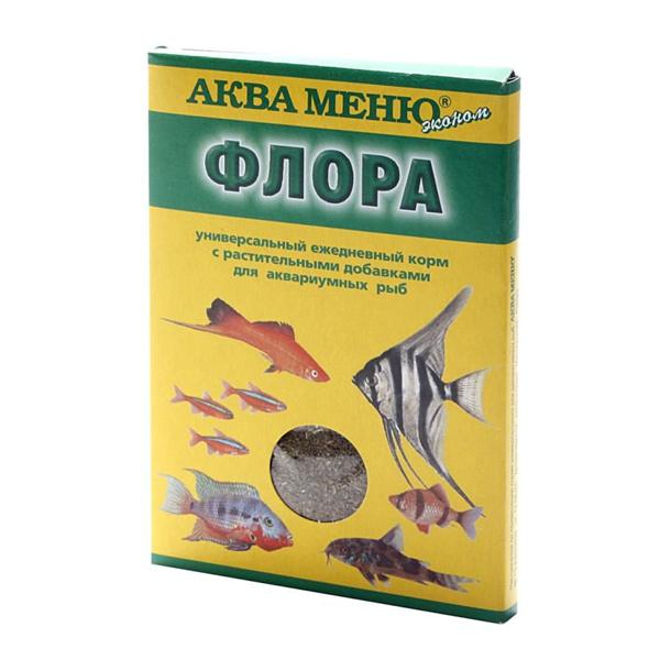 Корм Аква Меню Флора 30гр для большинства видов аквариумных рыб