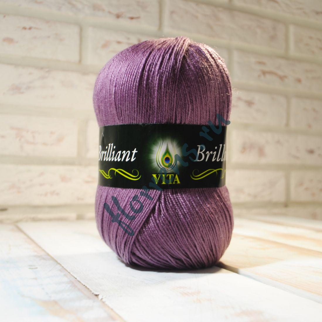 Пряжа Brilliant / 4976 пыльная роза