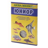 Корм Аква Меню Юниор 11гр для полноценного выращивания молоди многих видов аквариумных рыб