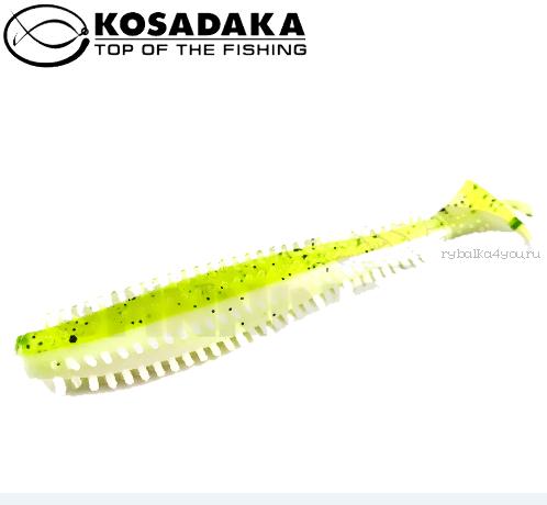 Купить Виброхвост Kosadaka Spikey Shad 120, 4шт., цвет AGS SSH-120-AGS