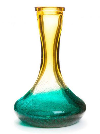 Колба для кальяна 50Clouds Amber Aqua Crackle