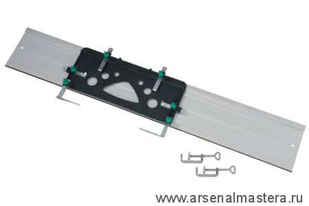 Шина направляющая алюминиевая 1150x205 Wolfcraft для циркулярной пилы