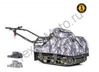 SnowDog Compact C-R15ME-WR компактный мотобуксировщик с двигателем RATO мощностью 15 л. с., электростартером и вариатором Сафари