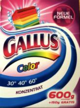 Gallus Концентрированный стиральный порошок для стирки цветного белья 8 стирок 750 г