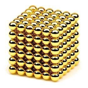 Неокуб Золото 5 мм 216 шариков
