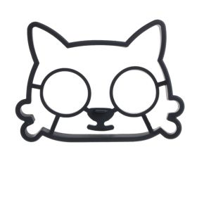 """Cиликоновая форма для яичницы """"Котик"""""""