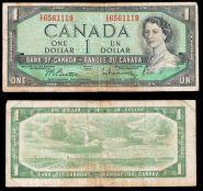 Канада 1 доллар 1954. ХОРОШАЯ
