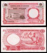 Нигерия 1 фунт 1967. ХОРОШАЯ