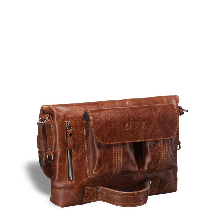 Универсальная сумка Brialdi Flint (Флинт) antique red